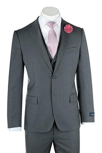 Tiglio Zegna Ermenegildo Cloth Superfine Wool Ash Gray for sale  Delivered anywhere in USA