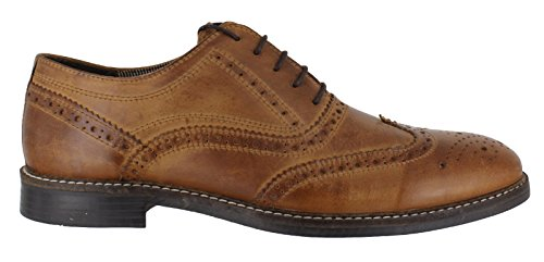81e074194fc6 Red Tape Bradshaw Men's Brown Leather Brogue Shoes - Buy Online in ...
