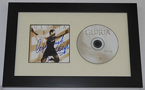 Gloria Estefan Destiny Beautiful Signed Autographed Music Cd Compact Disc Cover Framed Display Loa