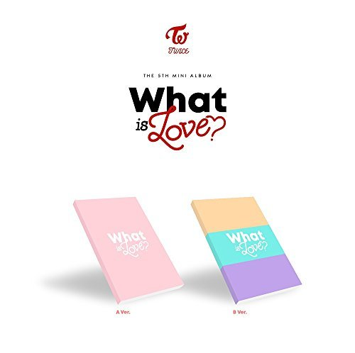 TWICE - WHAT IS LOVE? [A+B ver. SET] (5th Mini Album) 2CD+Photocards+Sticker+2Pre-Order Benefit+2Folded Poster+Free Gift