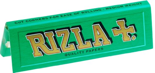 (Rizla Green Cigarette Rolling Papers- 10 Packets)