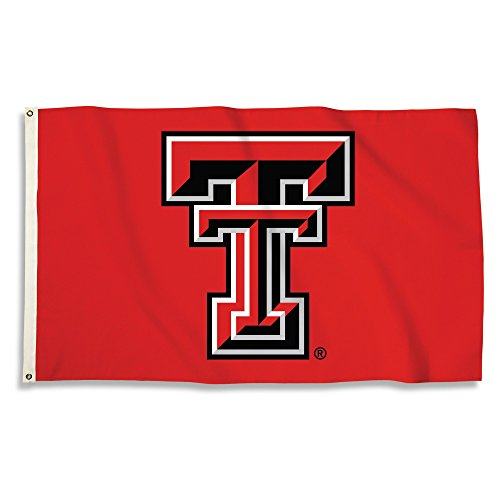 NCAA Texas Tech Red Raiders 3 X 5 Foot Flag with Grommets,