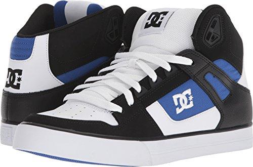 3e1e41394cb46 DC Men's Pure High-Top WC Skate Shoe, White/Blue/Black, 11.5 D US