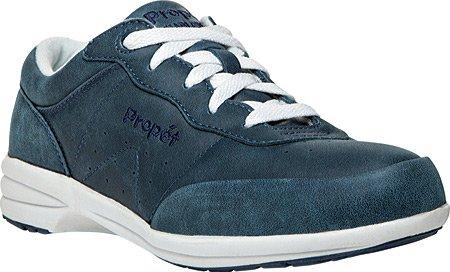 Propet Femmes Lavable Walker Sneaker Royal Bleu / Blanc