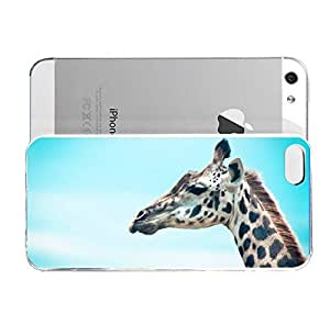 iPhone 5&5S cover case Animals Giraffes Zzz922