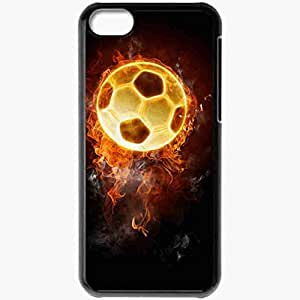 Personalized iPhone 5C Cell phone Case/Cover Skin Artistic Black