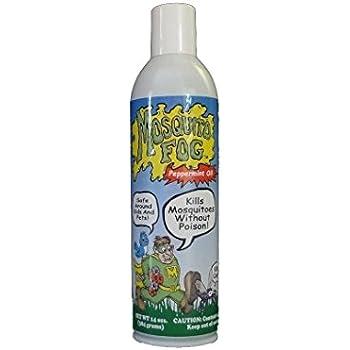 Mosquito Fog Non-toxic Organic Mosquito Killer Aerosol Spray (with Peppermint)