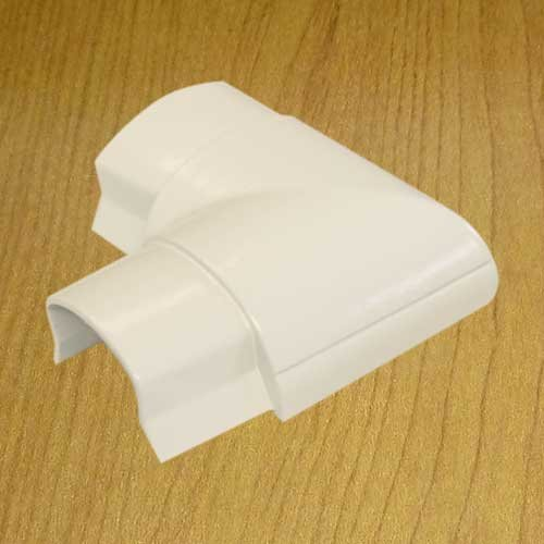 Flat Elbow Joint for Smooth Mould Hinged Cable Raceway With Adhesive Back (width 1.22