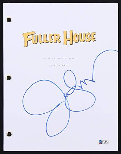 JOHN STAMOS SIGNED FULLER HOUSE OUR VERY FIRST SHOW AGAIN FULL TV EPISODE SCRIPT (Fuller House Our Very First Show Again)