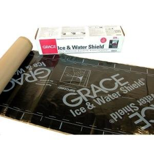 Grace Ice & Water Shield 36 in. x 75 ft. (225 sq. ft.) Roll Roofing Underlayment in - Sq Shield Black