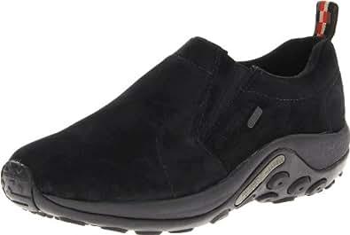 Merrell Men's Jungle Moc Waterproof Slip-On Shoe,Black,7 M US