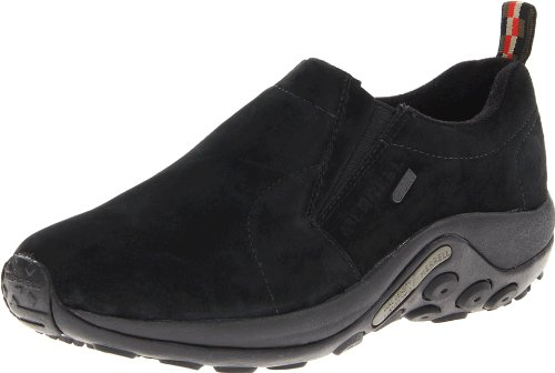 Merrell Men's Jungle Moc Waterproof Slip-On Shoe,Black,11.5 M US