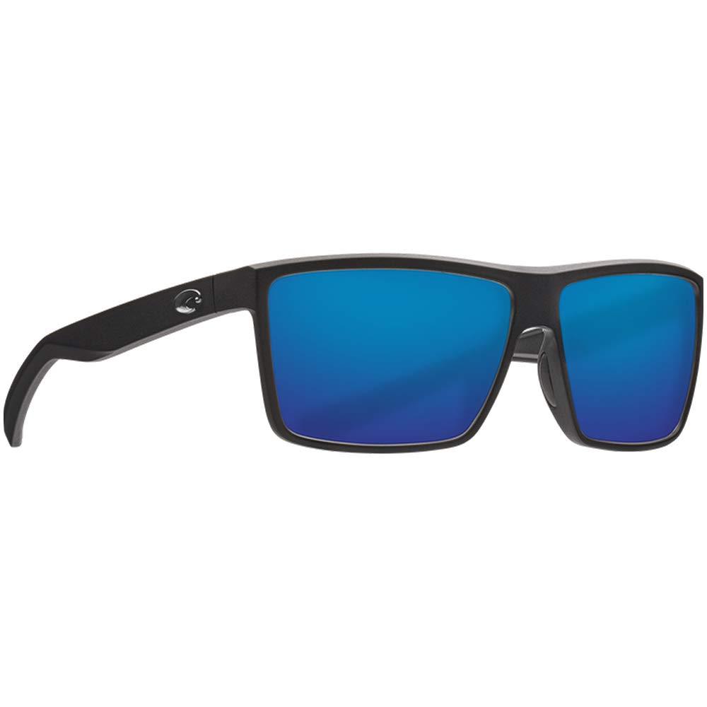 Costa Unisex Rinconcito Blue Mirror 580g/Matte Black Frame One Size