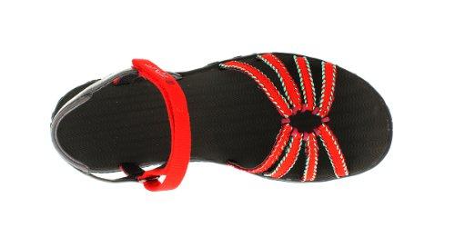 Rojo deportivas Red Kayenta Teva Rot 554 Dream Sandalias Weave W's Mujer 1O1Fnq60