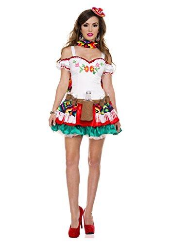 MUSIC LEGS Tequila Princess, White,