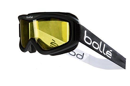Bolle Mojo Snow Goggles (Matte Black, Lemon Lens)