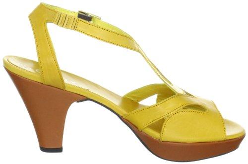 C. Doux 6110 Damen Sandalen/Fashion-Sandalen Gelb (sole, cuero)
