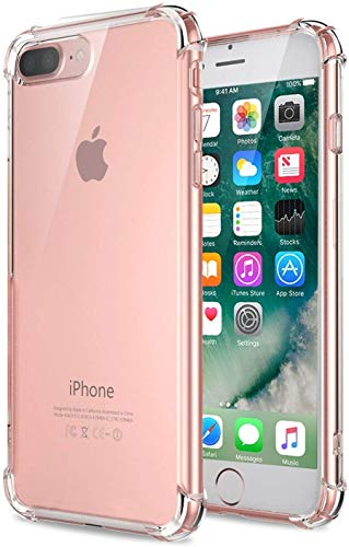 hifad case transparent back cover for apple iphone 7 plus