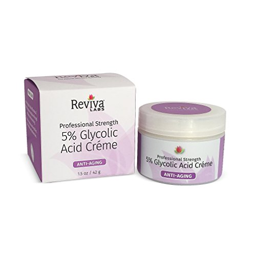 Reviva Labs 5  Glycolic Acid Cream  1 5 Oz