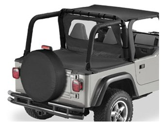 Bestop 90020-37 Spice Duster Deck Cover for 1997-2002 Wrangler with Factory Hardtop Removed
