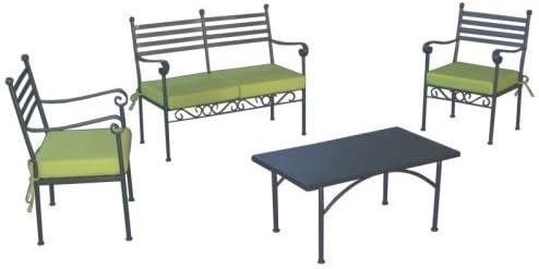 Vendilo Salón Jardín Garden C/cojín Juego de 4 Unidades.: Amazon.es: Hogar