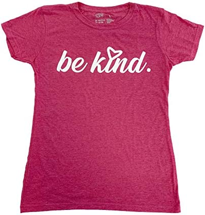 Be Kind Women T-Shirts Positive Vibes