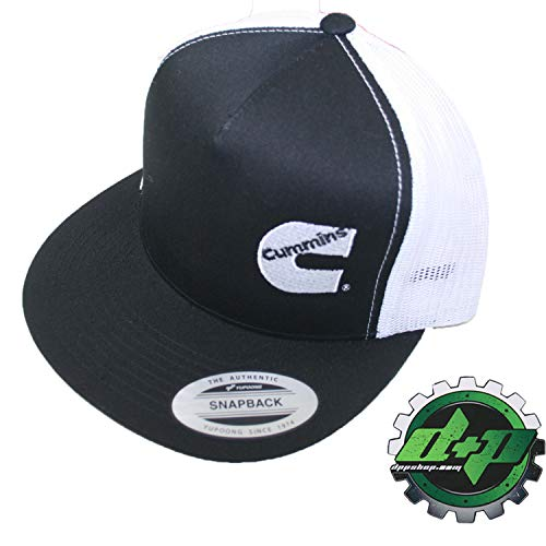 Diesel Power Plus Dodge Cummins Trucker mesh Summer Cummings hat Ball Cap Flat Bill snap Back Base