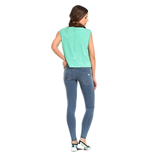WR Jeans UP Skinny Blue Grey Freddy Mid Rise dTzvqf