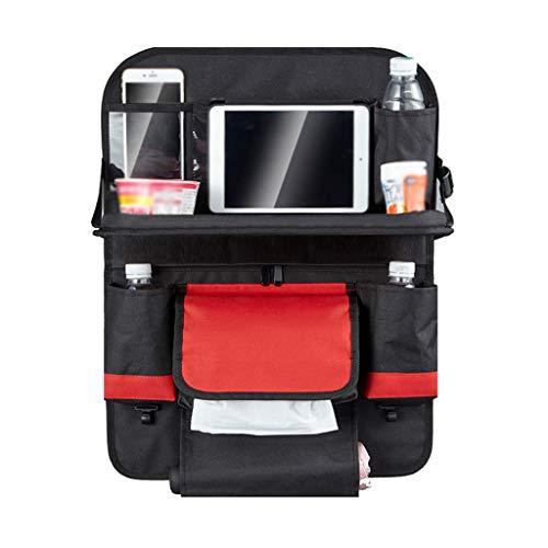 11 way bike Self-Driving Tour Dining Table, Car Seat Back Foldable Computer Desk Cloth Hanging Storage Bag Car Decorative Items (Size : 4457CM)