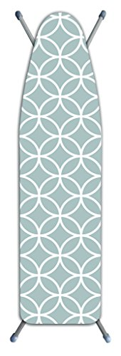 Laundry Solutions by Westex Stripe Tonal Deluxe Triple Layer Extra-Thick Ironing Board Cover and Pad, 15