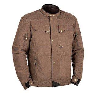 STREET & STEEL Scrambler Textile Motorcycle Jacket - LG, Brown Street Corduroy