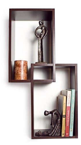 Review Intersecting Wall Mount Rectangular Shelves By Danya B by Danya B