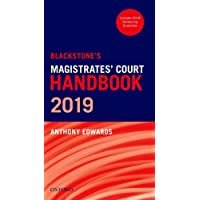 Blackstone's Magistrates' Court Handbook 2019