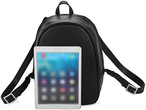 女性のためのコンピュータバックパックシンプルなレザーバックパック気質多機能旅行小さなバックパック多機能ブックバッグ用十代の若者たち女の子ジュニアミドルカレッジバッグ
