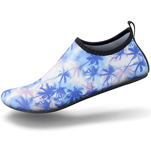 SEEKWAY Womens and Mens Water Shoes Barefoot Quick-Dry Aqua Socks Slip-on for Outdoor Beach Swim Yoga