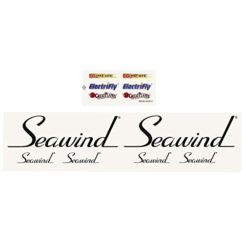 Planes Set Decal Great (Great Planes Decal Set Water & Adhesive EP Seawind ARF Vehicle Part)