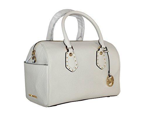 White Satchel Handbags - 7