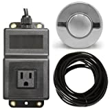 Single Outlet Sink Garbage Disposal Air Activated Switch by Geyser
