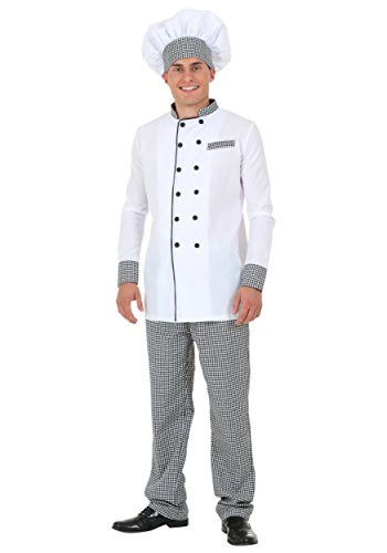 [Adult Chef Costume Medium] (Mens Chef Costumes)