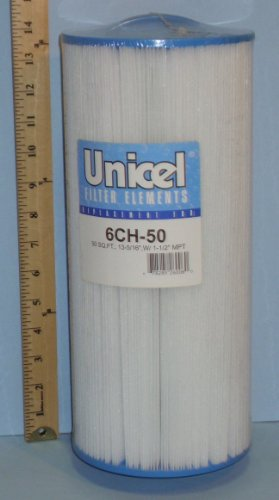 Unicel 6CH-50 Replacement Filter Cartridge for 50 Square Foot Top Load, Appliances for Home