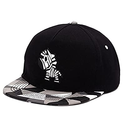 King Star Men Solid Flat Bill Hip Hop Snapback Baseball Cap