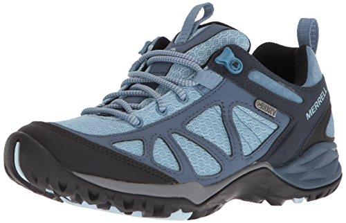 Merrell Women's Siren Sport Q2 Waterproof Hiking Boot, Blue, 6.5 Medium US
