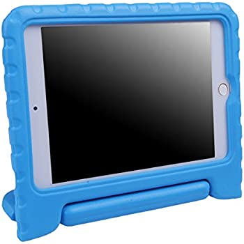 HDE iPad Mini 4 Case for Kids with Stand Protective Shock Proof Cover for 4th Generation Apple iPad Mini 4 (Blue)