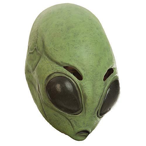 (Adult Astrik Alien Science Fiction Martian Mask Green)