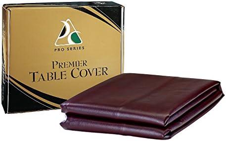 Pro Series TC Premier piel sintética mesa de billar cubierta - TC, 7-Feet, Burgundy: Amazon.es: Deportes y aire libre