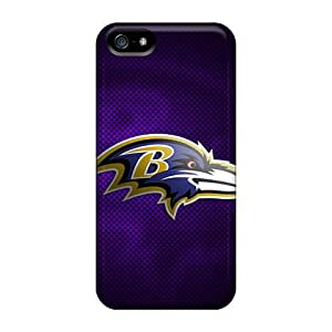Protection Case For Iphone 5/5s / Case Cover For Iphone(baltimore Ravens)