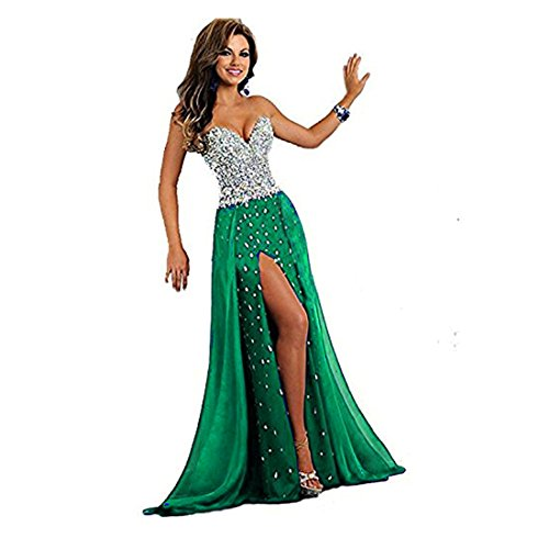 Buy light blue and green prom dresses - 3