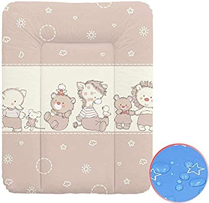 Baby Changing Mat Waterproof Dream Roll-Over White 70x85 cm