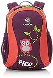 Deuter Pico, Unisex Kids' Backpack, Multicolour (Plum/Coral), 24x36x45 cm (W x H L)