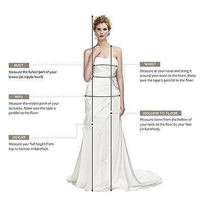 AWEI BRIDAL Maxi Bridesmaid Dress for Women 2017 Bateau Neckline Prom Dress